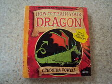 How To Train Your Dragon (Audio CD x 4) Read by David Tennant (Dr WHO)