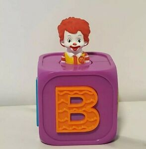 Ronald Mc Donald kid Jack In The Box Happy Meal Toy 2006