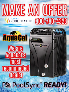 AquaCal SQ125 Swimming Pool & Spa Heater