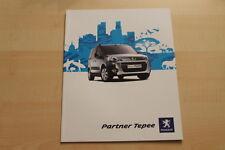 76120) Peugeot Partner Tepee Prospekt 07/2009