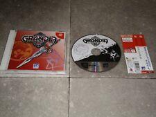 JEU SEGA DREAMCAST JAP: GRANDIA II 2 - Complet TBE + spin-card