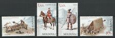Moldova2012 Military in the Middle Ages 2 stamps