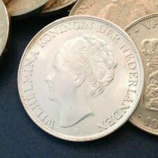 - Netherlands Curacao 1944 D 2 1/2 Silver Gulden Choice Uncirculated Unc
