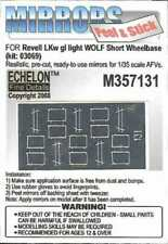 Echelon 1:35 WWII LKW GL Light Truck WOLF Mirrors Adhesive for Revell M357131
