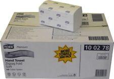 1 Karton 15x200 TORK Premium Soft FALTHANDTÜCHER Einmal-PAPIERHANDTÜCHER ZZ-Falz