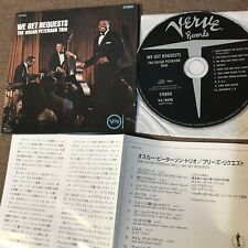 OSCAR PETERSON TRIO We Get Reques JAPAN Mini-LP CD UCCV-9152 w/INSERT Free S&H