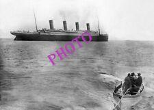 BATEAU   PAQUEBOT  LE   TITANIC  SS  1912   PHOTO OCEAN   SHIP LINER 17x13