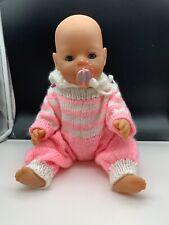 Zapf Puppe Vinyl Puppe 42 cm. Top Zustand