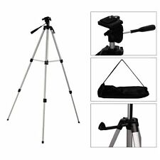 Phot-R 127 cm Professional 4-Section Aluminium Photo Video Tripod with 3-Way 360