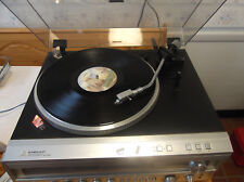 VINTAGE MITSUBISHI DP-EC7 FULLY AUTO DIRECT DRIVE TURNTABLE WITH AT-E30/L