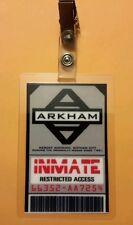 Batman Id Badge-Arkham Inmate