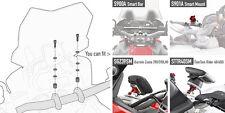 KIT 05SKIT GIVI PER SMART BAR S900A e S901A BMW F800R 2015 - 2016