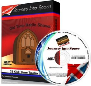 JOURNEY INTO SPACE OTR OLD TIME RADIO SHOWS 53 EPISODES MP3 ON CD