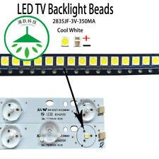 100pcs/lot new led 2835 3v 350ma Lamp beads for repair led tv lcd backlight bar