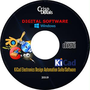 2020 KiCAD Electronics Design Automation Suite (EDA )CD-ROM Windows & Mac OS X