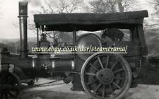 Clayton & Shuttleworth Steam Roller, Steam Traction Engine Photograph
