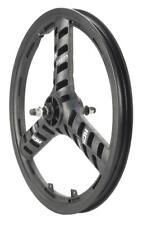 "ACS Stellar Mag 20"" Front Wheel, 3 Spoke 3/8"" Axle Black"