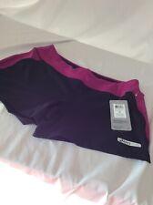 Asics Women's Athletics Knit Short, Zipprer Upper Pocket, Size M, Retail $42.00