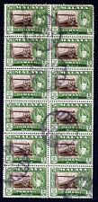 PAHANG MALAYSIA 1960 $5 Sir Abu Bakar P13x12½ BLOCK OF TWELVE SG 86a VFU