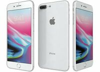 NEW SILVER T-MOBILE 64GB APPLE IPHONE 8 PLUS SMART PHONE JB35