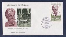 ASg/ Sénégal  enveloppe  1er jour  docteur A. Schweitzer    1975