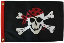 Flappin' Flags One Eyed Jack Garden Boat Flag, 12 x 18 in