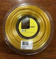 New & Genuine LUXILON 4G 1.25mm /16L Tennis String 200m Reel - Free Aust Postage