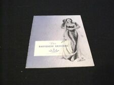 "Danish movie program.""The Barefoot Contessa ""1954 Humphrey Bogart-Ava Gardner"