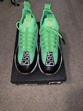 7e072709 NIB VERSACE Lime Green Cross Chainer Mesh & Neoprene Sneakers Size 9 US 42  EU