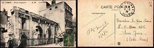 France 1920 Postcard 5c Sower Narbonne to Porto Rico Postal History