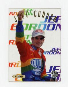 Jeff Gordon 1996 Press Pass Focused Clear Acetate Insert Card 1:72 Packs Plastic