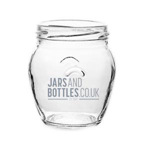 212ml Orcio Jam Chutney Preserve Jars including caps (Brand new)