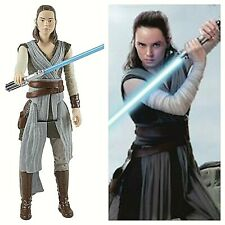 Star Wars: The Last Jedi 12-inch Rey Jedi Training Toy Action Figure Collectible
