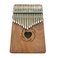 Music Instrument 17 Keys Kalimba Thumb Piano Mahogany Wood Body Hot selling