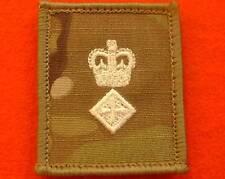 LT COL UBACS MTP Rank Patch Ivory Lieutenant Colonel Multicam Combat Rank Patch