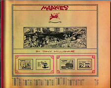 Maakies Volume 1 Trade Paperback by Tony Millionaire Tpb Gn Nm-