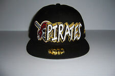 PITTSBURGH PIRATES NEW ERA 59FIFTY MEN'S FITTED HAT CAP VARIOUS SIZES NWT