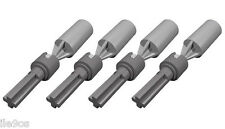 4 Lego CV JOINTS Kit  (technic,universal,steering,racer,axle,connector,car)