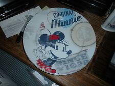 Mint New 1928 Disney Americana Minnie Mouse 10.5 inch Plate