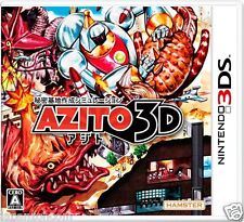 Used AZITO 3D NINTENDO 3DS JAPANESE  IMPORT