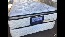 Sleepy single size pillow top Ensemble (mattress and base)