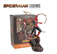 FIGURA SPIDER - MAN IRON STUDIOS  Batalla Diorama Avengers en CAJA 22CM