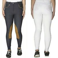 TOGGI Marwari White Ladies Stretch Denim Breeches Polo Showjumping SALE