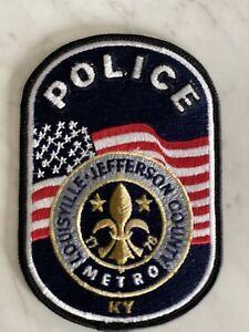 Louisville Metro Police Merger patch