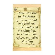 Psalm 91 The Soldier's Prayer Those who live in the shelter 8x12 Hand Made print