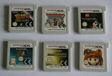 Lot 6 Jeux Nintendo 3DS