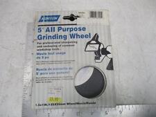 "NORTON 88205 5"" All Purpose Grinding Wheel 3/4"" x 1"" Fine Grit Tool Sharpener"