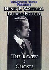Raven / Ghost [New DVD] Black & White, Silent Movie