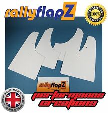 Parafanghi rallyflapZ RENAULT CLIO Mk3 (2005-2014) Bianco Tinta unita 3mm PVC