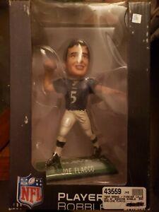 "JOE FLACCO ""legends of the field"" numbered bobblehead NFL PLAYERS NIB #170/2010"